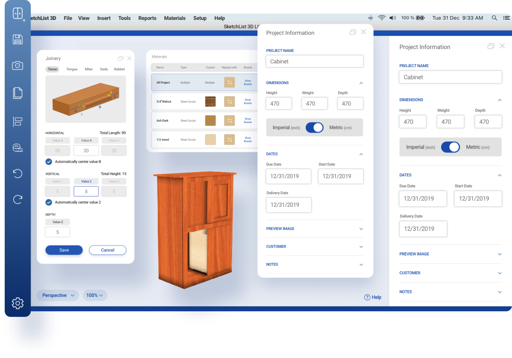 Woodworking main background