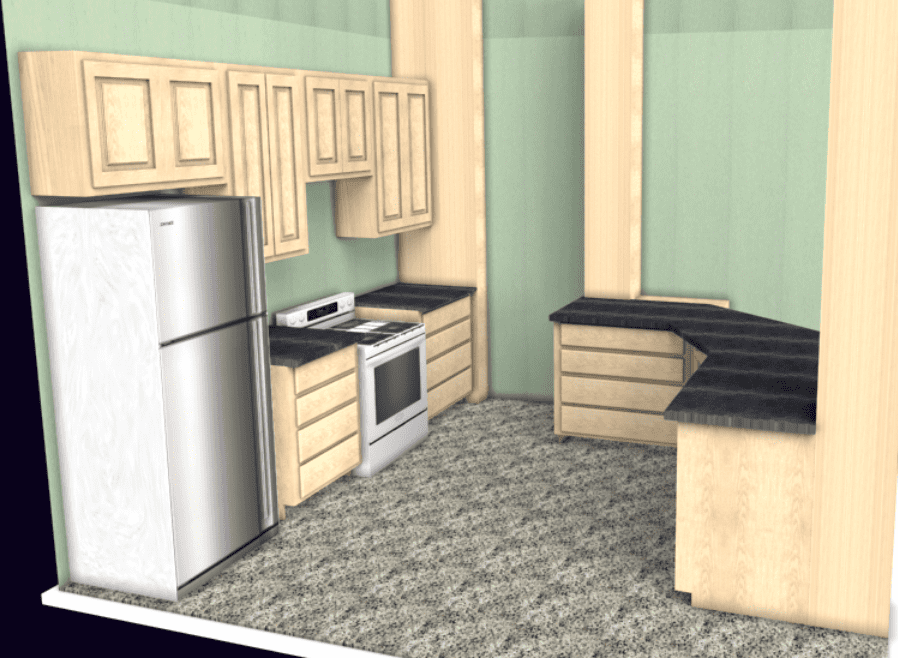 Kitchen Layout Software Builds Sales Sketchlist3d