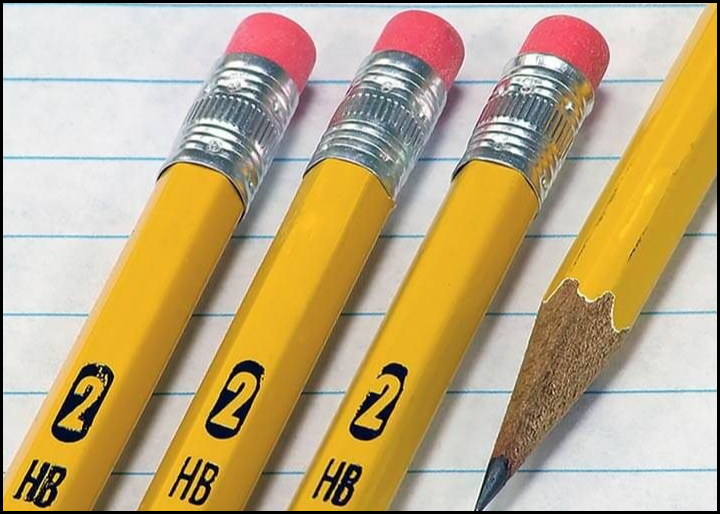 Image of pencil and eraser